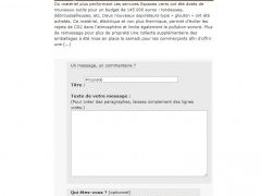 Commenter un article